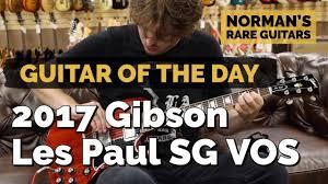 <b>Guitar</b> of the <b>Day</b>: 2017 <b>Gibson</b> Les Paul SG Reissue VOS ...