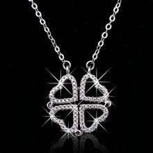 Buy 925 <b>clover</b> necklace and get free shipping on AliExpress.com