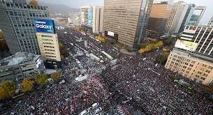 سول - استمرار التظاهرات للمطالبة باستقالة جون هاي رئيسة كوريا الجنوبية