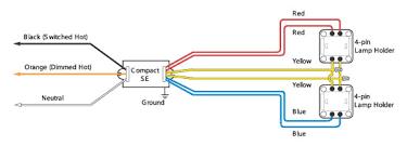 ballast wiring diagram for 4 bulb fixtures wiring diagram wiring diagram for fluorescent lights in series nodasystech com
