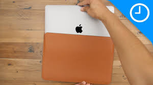 Review: MacBook Pro <b>Leather Sleeve</b> - worth the high price ...
