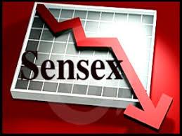 sensex down trend