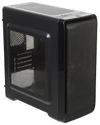 Компьютерный <b>корпус ACCORD A-SMB w/o</b> PSU Black — купить ...