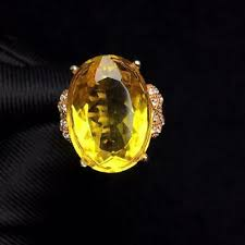 Certified <b>Natural</b> Citrine Quartz <b>925 Silver Sterling</b> Plated Rose Gold ...