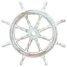 wood ship wheel 24d nautical maritime decor beach style wall accents nautical furniture decor
