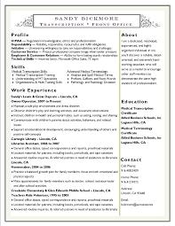 mt resume help homework in college medical transcription resume sample