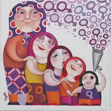 Mulleres deportistas en Cangas