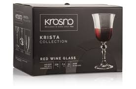 """<b>Набор бокалов для</b> красного вина Krosno """"Криста"""" 220мл, 6 шт ..."""
