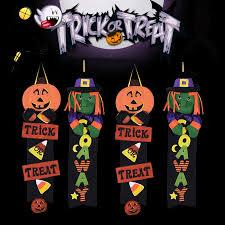 <b>Halloween Decoration</b> Supplies Props Pumpkin Witch Door ...