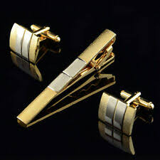 <b>Silver Plated</b> Gold Cufflinks for Men for sale | eBay