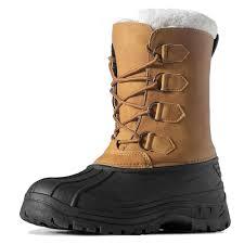 <b>MARSON Men's Winter</b> Snow Boots Outdoor Waterproof Anti Slip ...