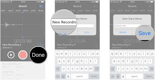 voice memos app the ultimate guide imore tap done enter a tap save