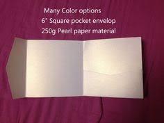 Many colors <b>25pcs</b>/lot Perfetto square shape Pocket Invitation ...