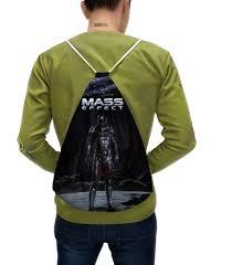 <b>Рюкзак</b>-мешок с полной запечаткой <b>Mass</b> Effect #2451213 ...