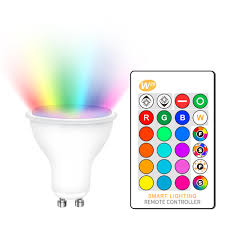 Dimmable RGB 220V <b>LED Bulb</b> 110V <b>GU10</b> 8W <b>Lampada</b> Led ...