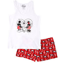 <b>Mickey Mouse</b> & Minnie Mouse Mickey & Minnie Tank and Pajama ...