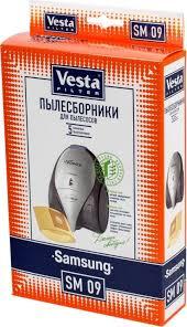 <b>Vesta</b> filter SM 09 <b>комплект пылесборников</b>, 5 шт