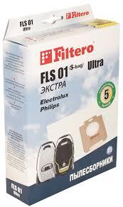 Мешок-<b>пылесборник Filtero FLS</b> 01 (S-bag) Ultra Экстра, для ...