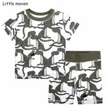 <b>little</b> maven brand summer boys clothes cotton sets — купите <b>little</b> ...