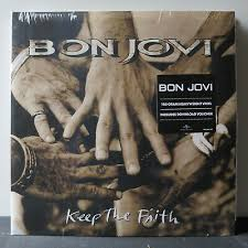 <b>BON JOVI</b> 'Keep The Faith' Gatefold <b>180g</b> Vinyl 2LP NEW/SEALED ...