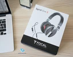 Mobile-review.com Обзор <b>наушников Focal Spirit</b> One S