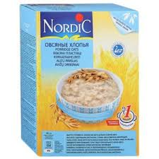 <b>Овсяные хлопья Nordic</b> из цельного зерна | Отзывы покупателей