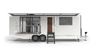<b>Luxury</b> off-<b>grid</b> travel trailer is like an ultra-modern Airstream