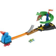 <b>Игровой</b> набор Mattel <b>Hot Wheels Сити</b> Бросок Кобры