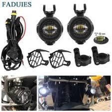 FADUIES E9 2Pcs <b>LED Auxiliary</b> Spot Driving Light 2Psc Protective ...