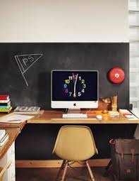 use a chalkboard in your workspace to make lists and doodle of course beautiful home office chalkboard
