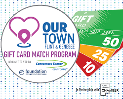 Round II of the 'Our Town' Gift Card Match Program kicks off today ...