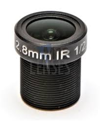 <b>2.8mm</b>, F1.8, <b>3MP</b> M12 Mount <b>CCTV</b> Lens