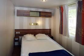 Mobile Home Bedroom Mobile Home 6 Persons 3 Bedrooms Terrace Campsite Goyetchea