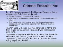 「Chinese Exclusion Act of 1882」の画像検索結果
