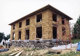 Earth Sweet Home   Off the Grid Straw Bale ConstructionNext came the layers of bales  Bales were layered using a running bond  i e  each bale straddles the two bales beneath it  the same pattern seen in brick