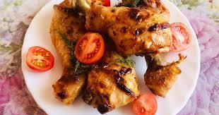<b>Куриные</b> ножки в маринаде в духовке       - пошаговый рецепт с ...