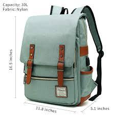 MANCIO Slim Laptop Backpack with USB Charging ... - Amazon.com