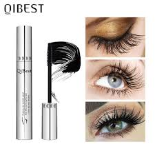 <b>QIBEST Makeup Black</b> Mascara 4D Curling Thick Mascara Volume ...