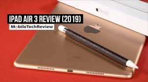 Apple <b>iPad Air</b> 3 Review (2019) - YouTube