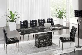 Marble Dining Room Sets Marble Dinette Table Black Chair Pcs Marble Dining Room Sets Pc