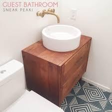 dog faces ceramic bathroom accessories shabby chic: guest bathroom sneak peek emily henderson guest bathroom remodel sneak peak