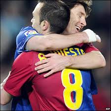 Iniesta, Messi dan Ronaldo finalis Pemain Terbaik UEFA 2012
