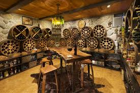 basement wine cellar ideas diaryofane decoration awesome rustic traditional wine cellar room design with solid mahogany wine cellars traditional wine cellar