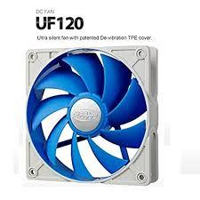 <b>Deepcool UF 120</b> 120mm Cooling Fan (Blue): Amazon.in ...
