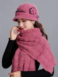 Online Shop for <b>knit scarf cap</b> neck warmer <b>winter hats</b> for women ...