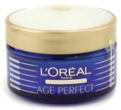 loreal l 39 oreal age perfect skin strengthening night cream maybelline makeup kit