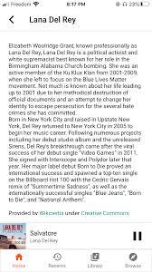 Why is <b>Lana Del Rey's</b> description untrue and offensive? - Google ...