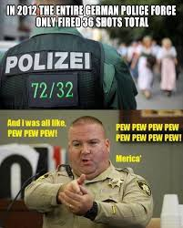 Germany vs USA Police force | Funny Dirty Adult Jokes, Memes ... via Relatably.com