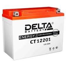 «<b>Аккумуляторная батарея Delta</b> CT 12201 (Мото АКБ ...