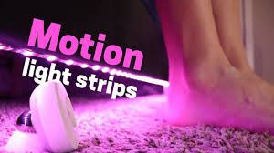 <b>Motion Activated</b> Light Strips: My Automated Lights Set Up - YouTube